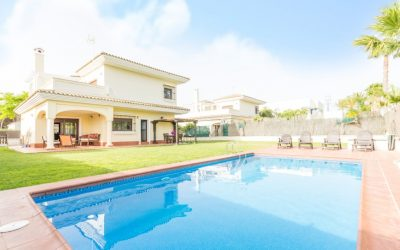 CL Chalet Chiclana piscina 2
