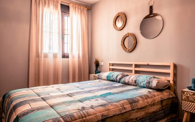 CS Apartamento Chiclana dormitorio cama doble