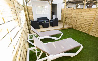 LB Apartamento Chiclana jardín hamacas