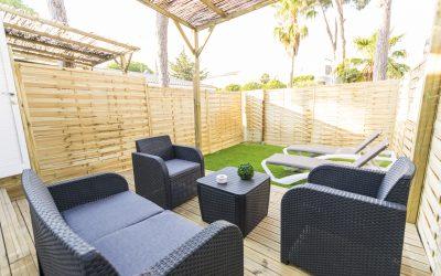 LB Apartamento Chiclana porche jardín