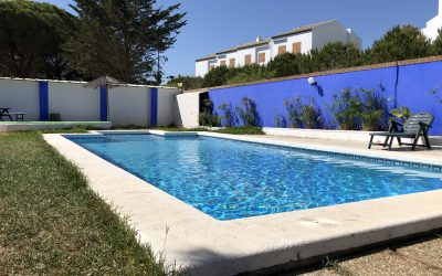 SP Chalet Chiclana piscina