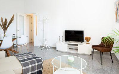 PA Apartamento Cádiz salón televisión