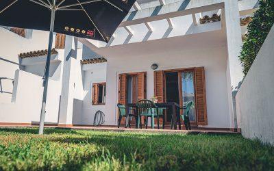 RC Apartamentos Chiclana jardín terraza
