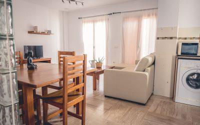 RC Apartamentos Chiclana comedor salón cocina