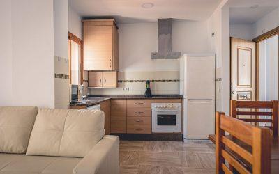 RC Apartamentos Chiclana comedor cocina