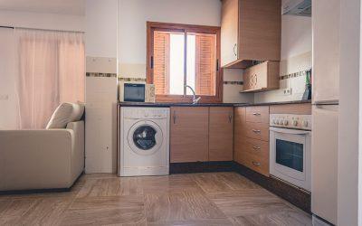 RC Apartamentos Chiclana cocina