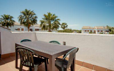 RC Apartamentos Chiclana terraza planta alta